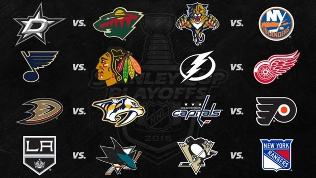 В НХЛ сформирована сетка плей-офф / nhl.com