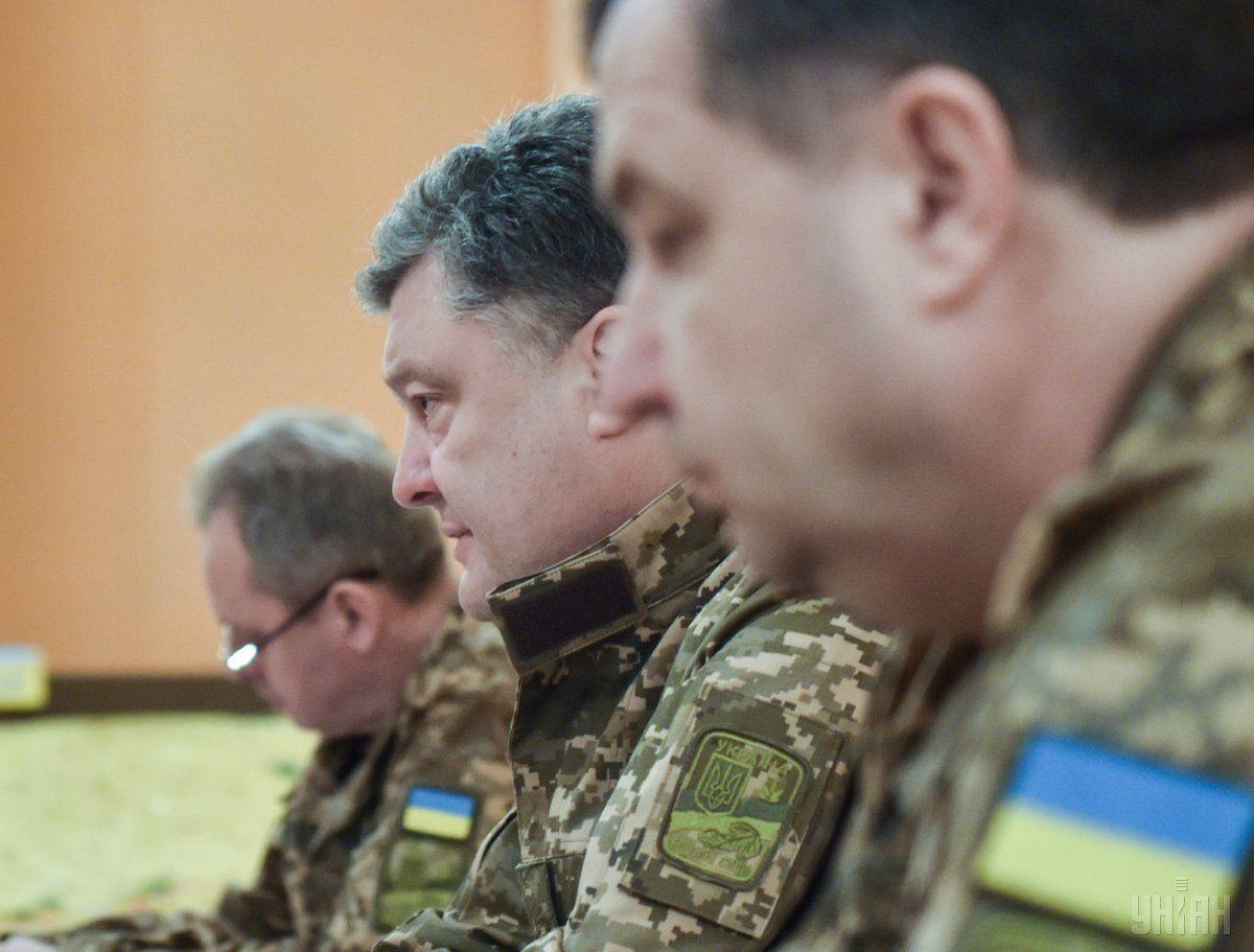 Міністр оборони Степан Полторак / фото УНІАН / УНІАН