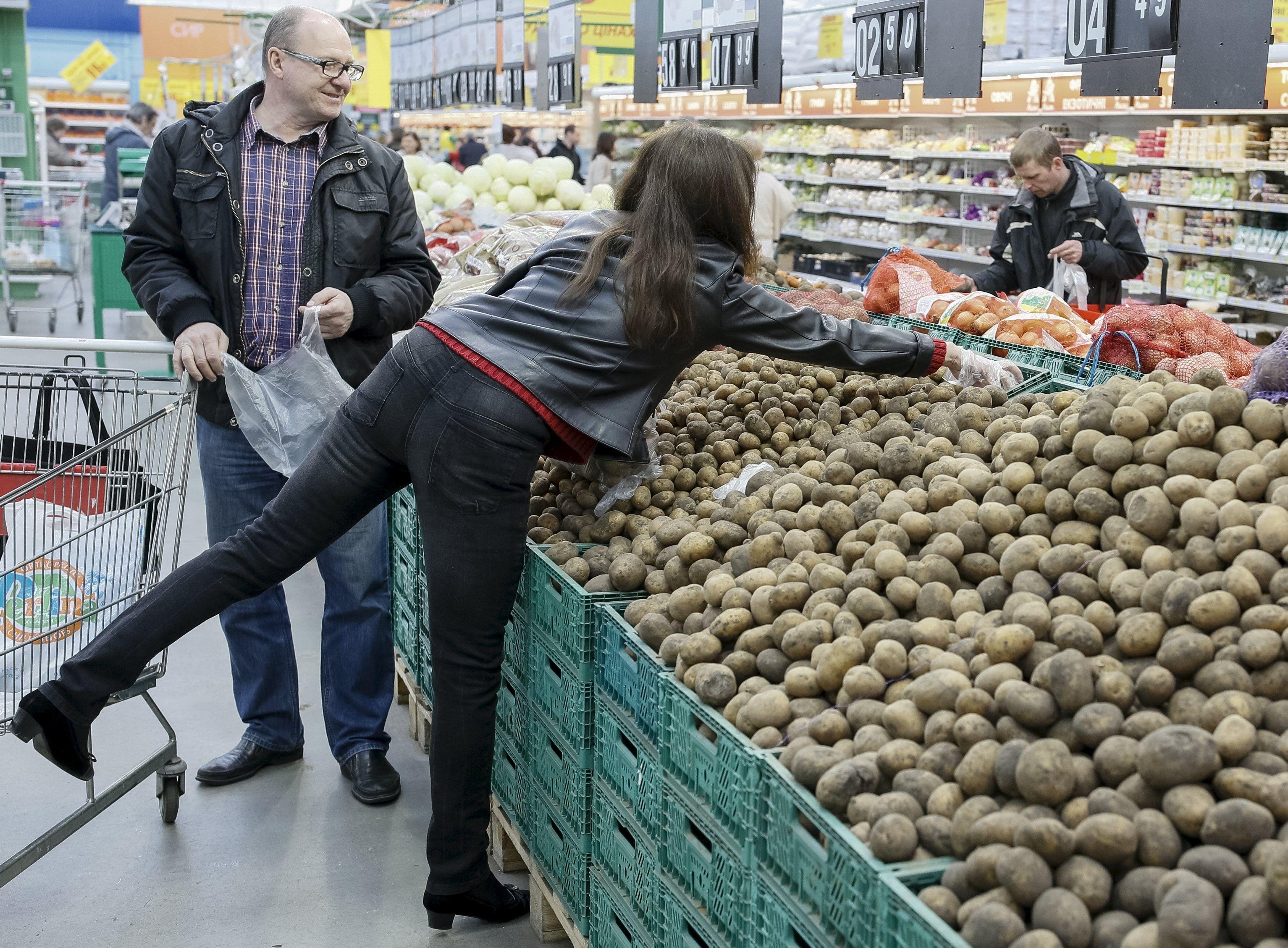 В 2019 году Украина вошла в топ-3 производителей картофеля в мире / фото REUTERS