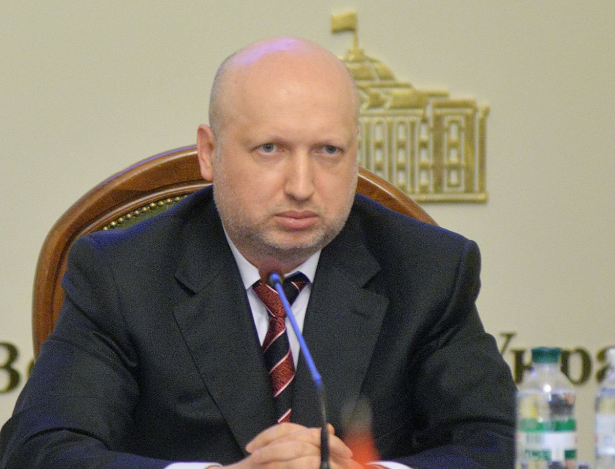 Turchynov warns against a full-scale military operation in Donbas / Photo from UNIAN