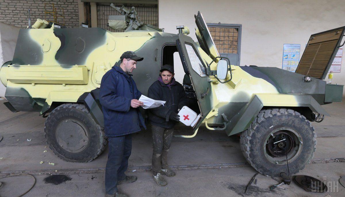 Тактическая боевая колесная машина «Дозор-Б» / фото УНИАН