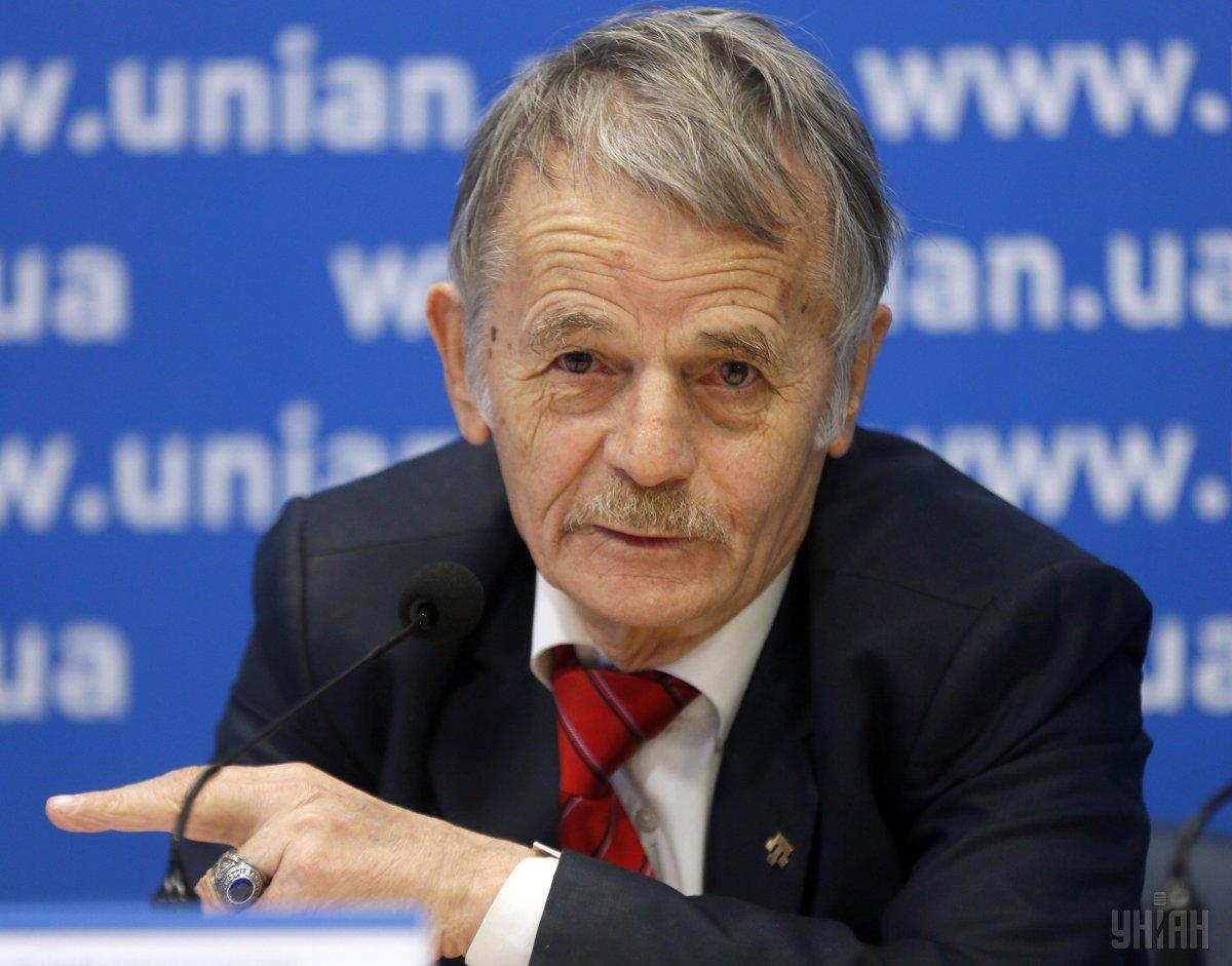 Джемилев рассказал о сегодняшней встрече с Зеленским / фото УНИАН