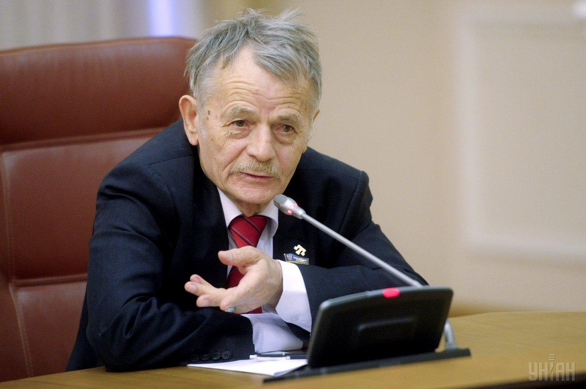 Джемилев рассказал о предстоящей акции крымских татар / УНИАН
