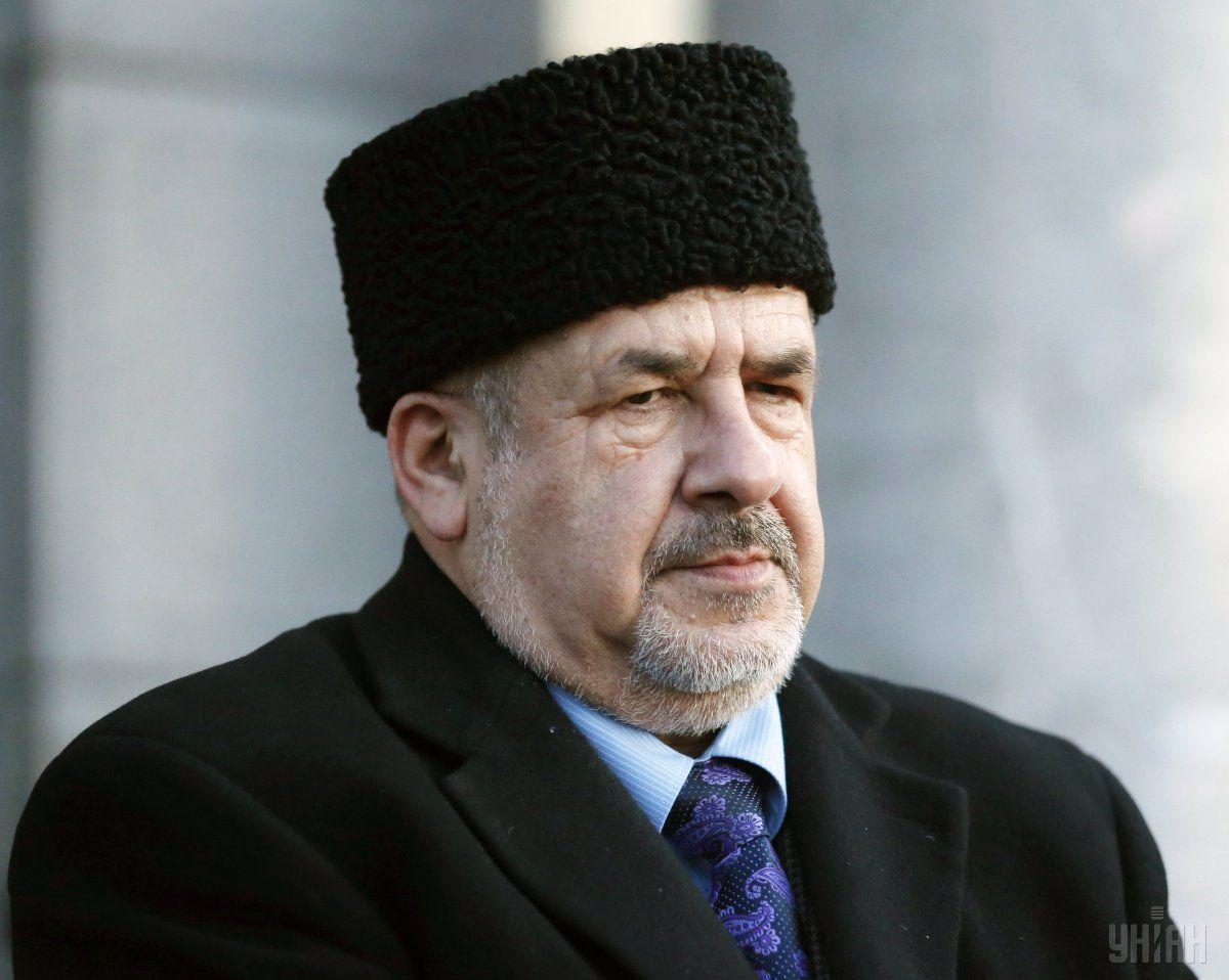 Чубаров наголосив, що татари не підуть на вибори, попри тиск, який на них чинять / фото УНІАН