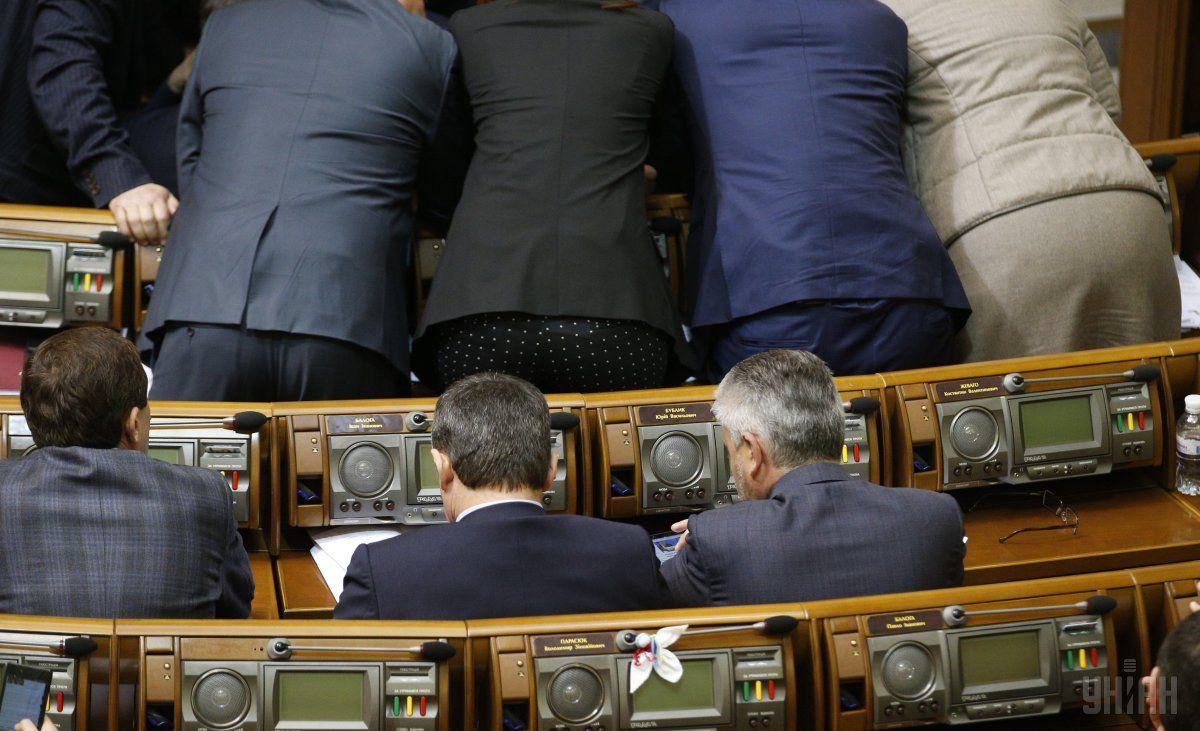 Депутаты так и не рассмотрели 12 апреля вопрос отставки Яценюка / фото УНИАН / УНИАН