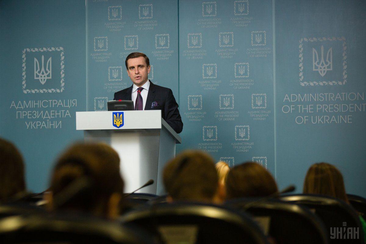 Єлісєєв заявив, що зараз ведеться дипломатична робота щодо визнання резолюції / Фото УНІАН