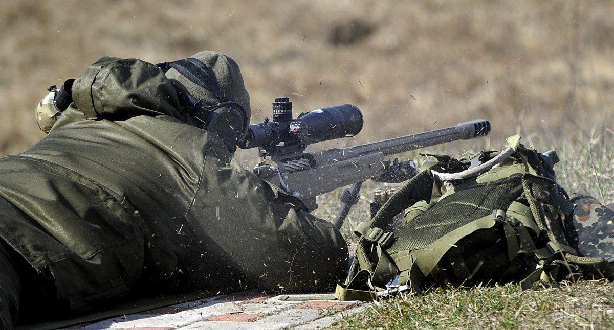 Український військовий загинув від кулі снайпера / УНІАН