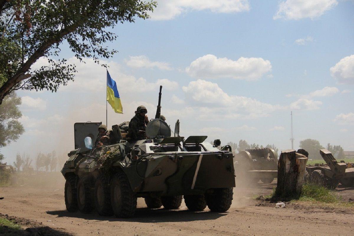 Боевики восемь раз нарушили режим прекращения огня / фото mil.gov.ua