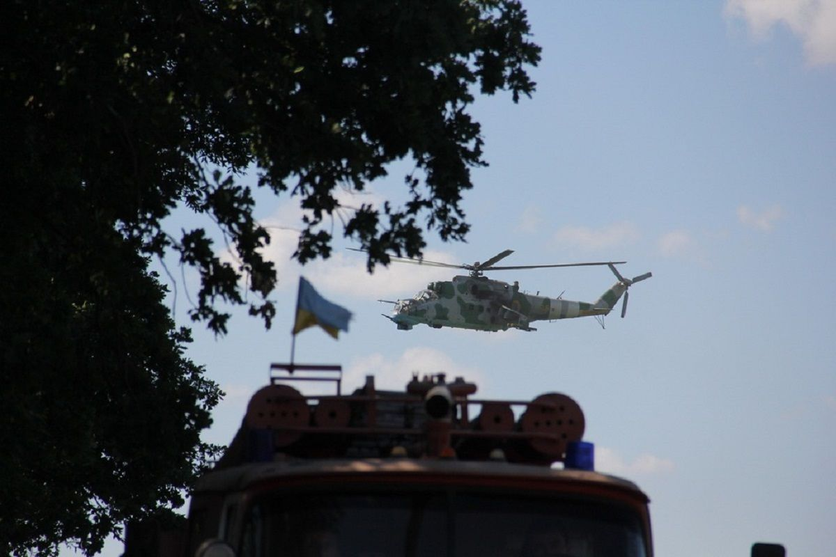 В штабе АТО опровергают заявление боевиков о том, что они якобы подбили вертолет украинских военных / фото mil.gov.ua