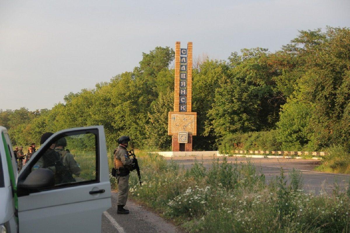 Славянск освободили от боевиков в июле 2014 года / фото mil.gov.ua