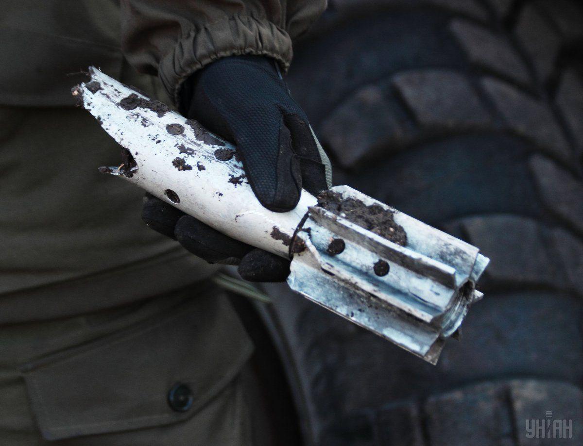 Снаряд упав на подвір'я на Львівщині / фото УНІАН