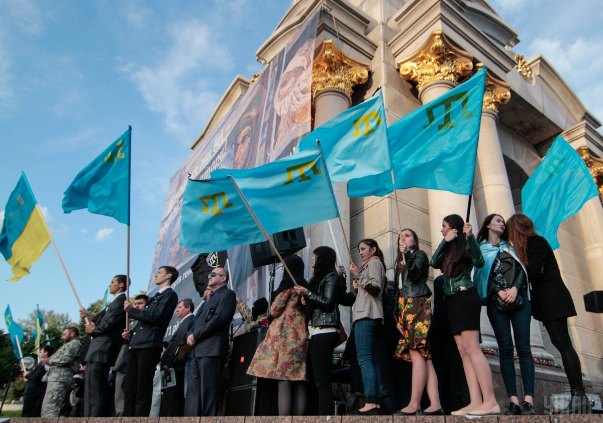 Rallies of the Crimean Tatars / Photo from UNIAN