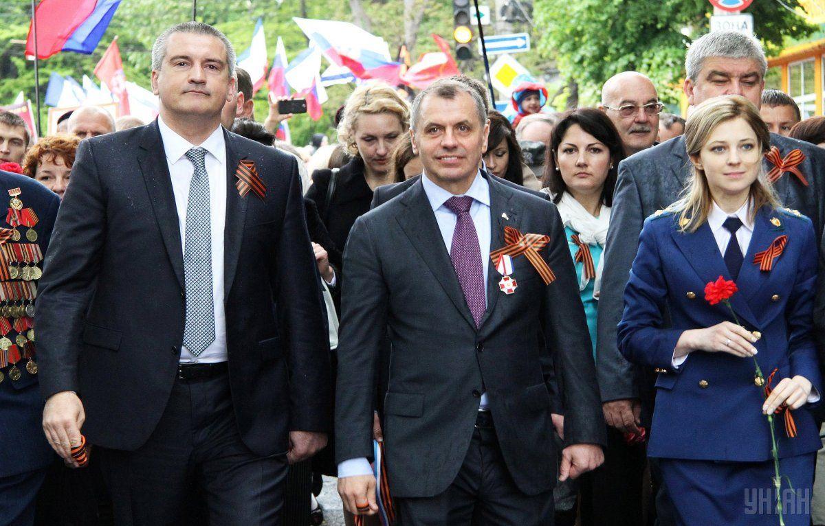 Аксенов и Константинов получили подозрения от прокуратуры / УНИАН