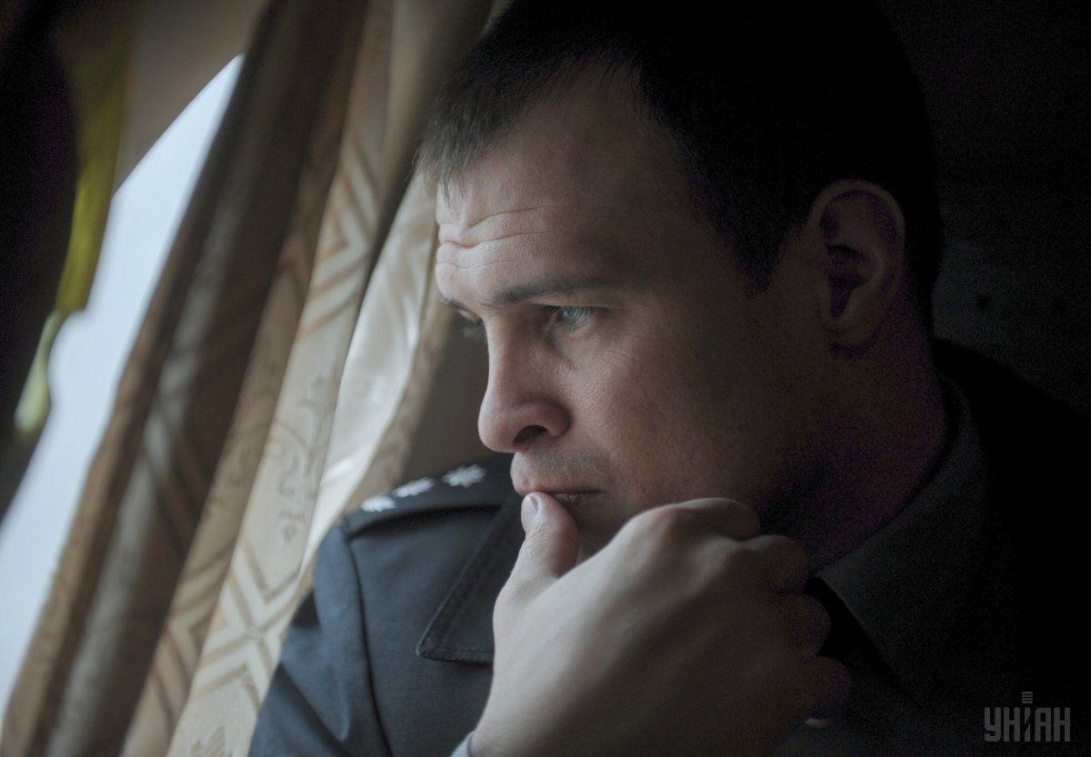 Фацевич, поліція, патрульна / Фото УНІАН
