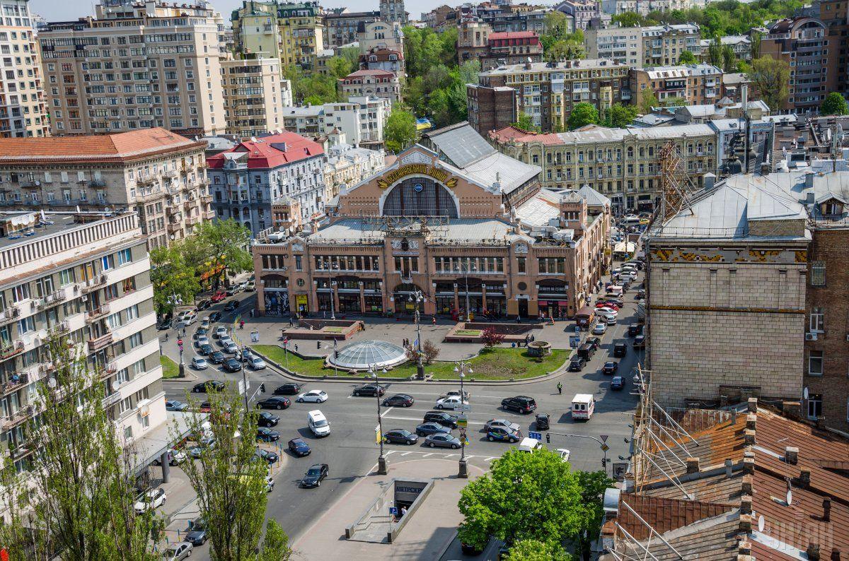 Бессарабський ринок реставрують / фото УНІАН