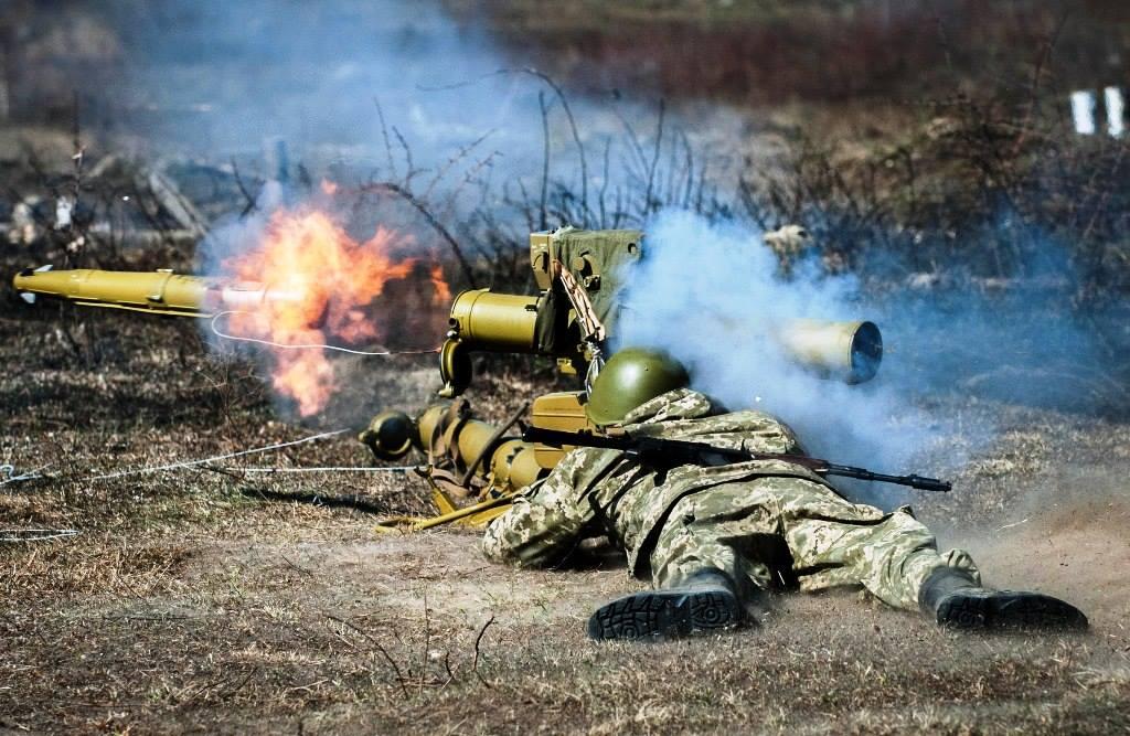 За добу в АТО один загиблий і семеро поранених - Лисенко  За минулу добу на Донбасі загинув один військовий і семеро були поранені / facebook.com/theministryofdefence.ua/