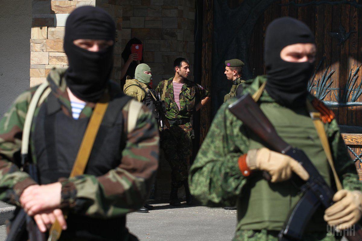 Боевики на Донбассе / фото УНИАН