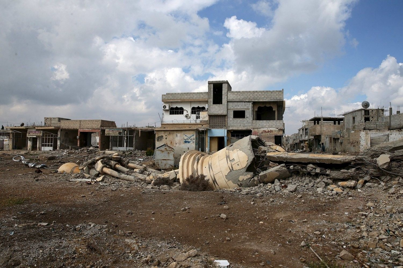 Руины в Сирии / REUTERS