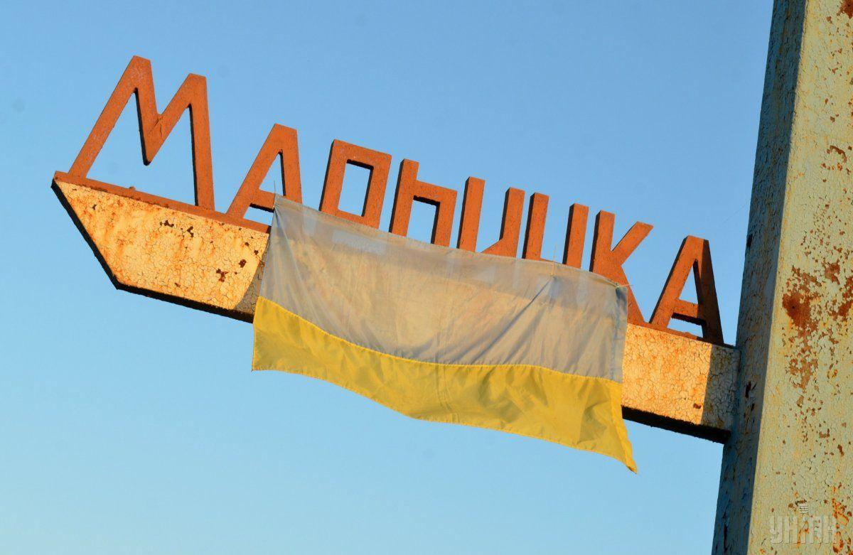 Теперь в Марьинке уже практически нет так называемой серой зоны / фото УНИАН