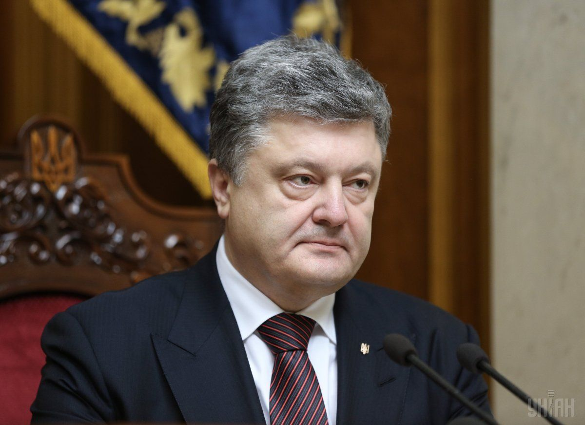 Poroshenko is hopeful about retaking Donbas and Crimea / Photo from UNIAN