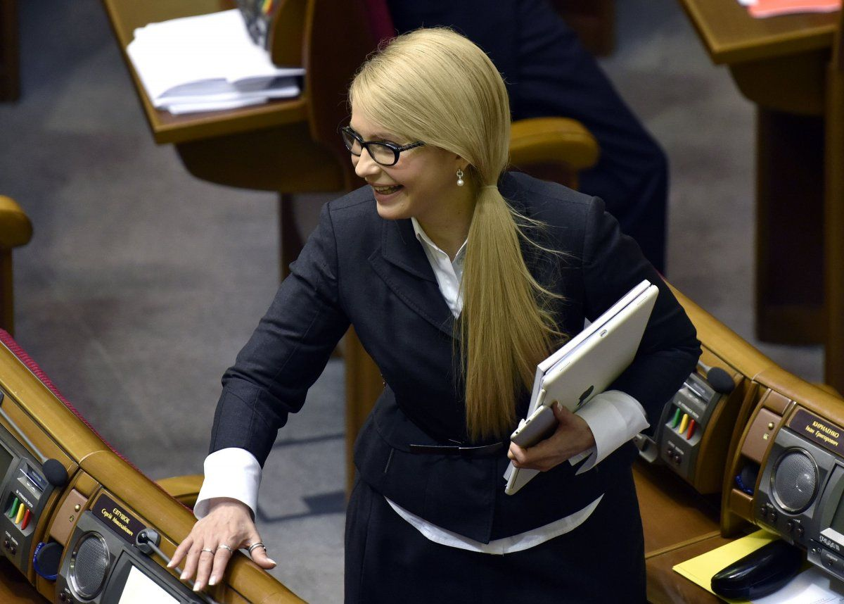 За Тимошенко готовы проголосовать 18% тех, кто планирует голосовать и определились с выбором / УНИАН