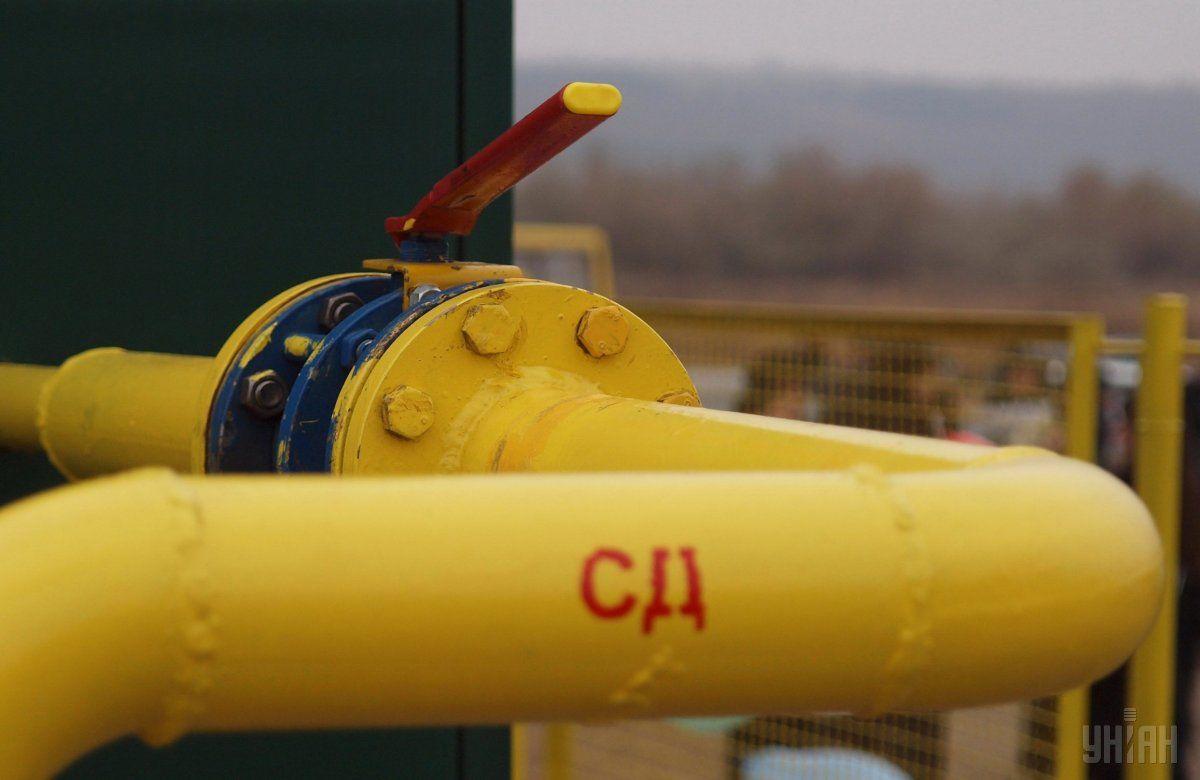 Украинские газовые хранилища заполнены на 39% / фото УНИАН