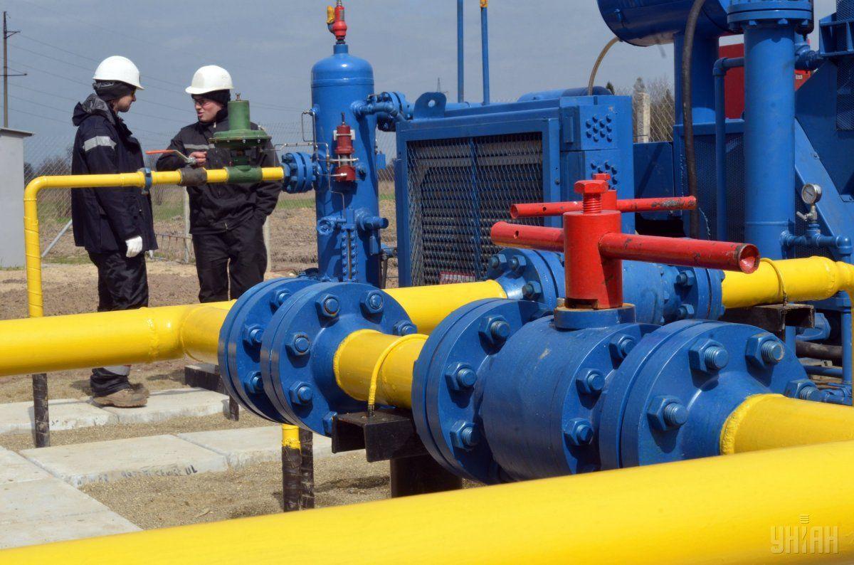 схема поставок газа
