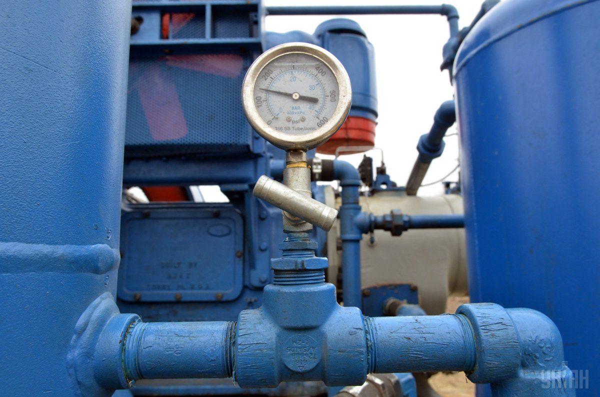 Газові сховища України заповнені на 48% / фото УНІАН