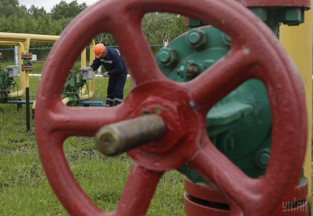 Газовые хранилища Украины заполнены на 37,33% / фото УНИАН