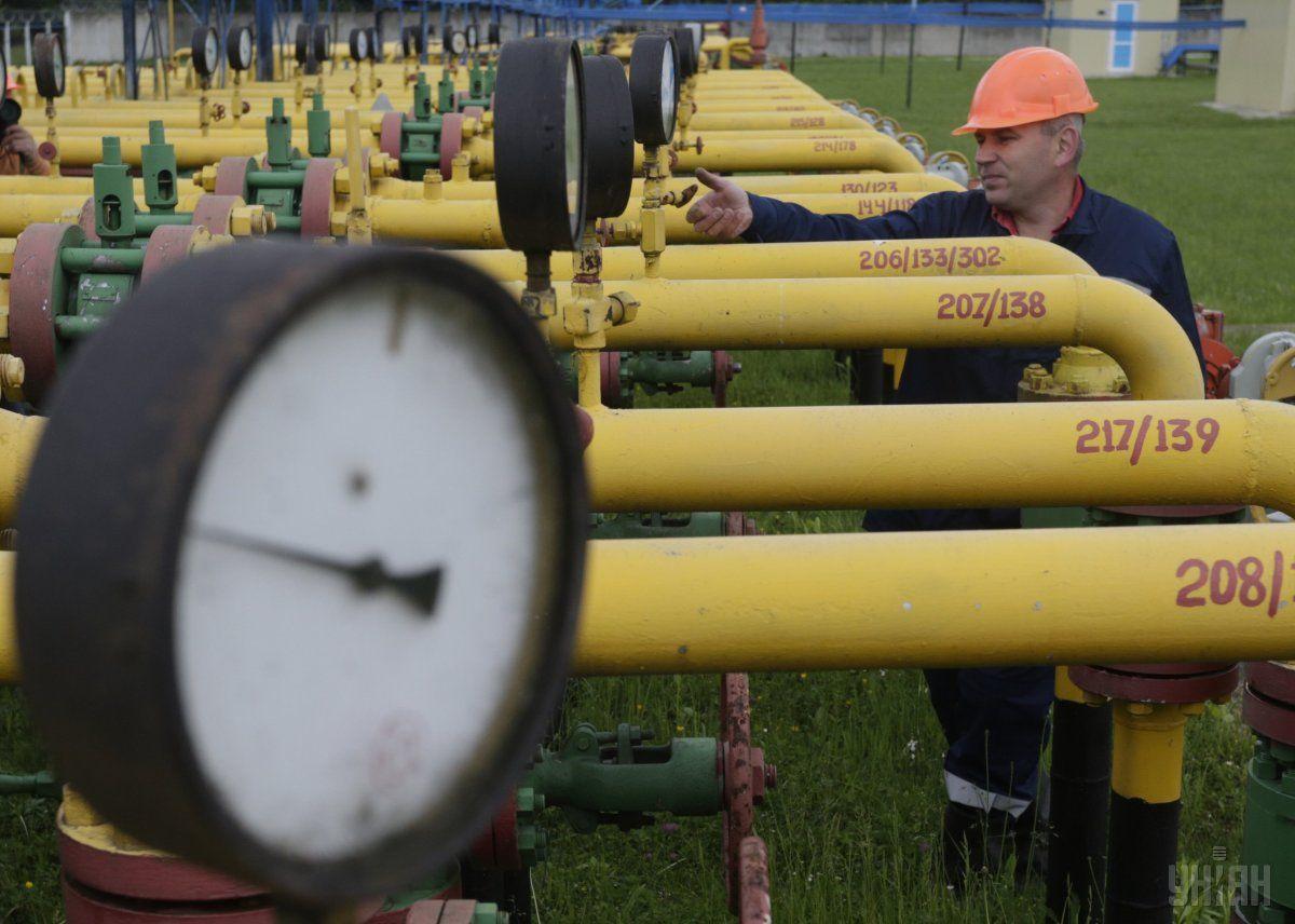 Газові сховища України заповнені на 32% / фото УНІАН