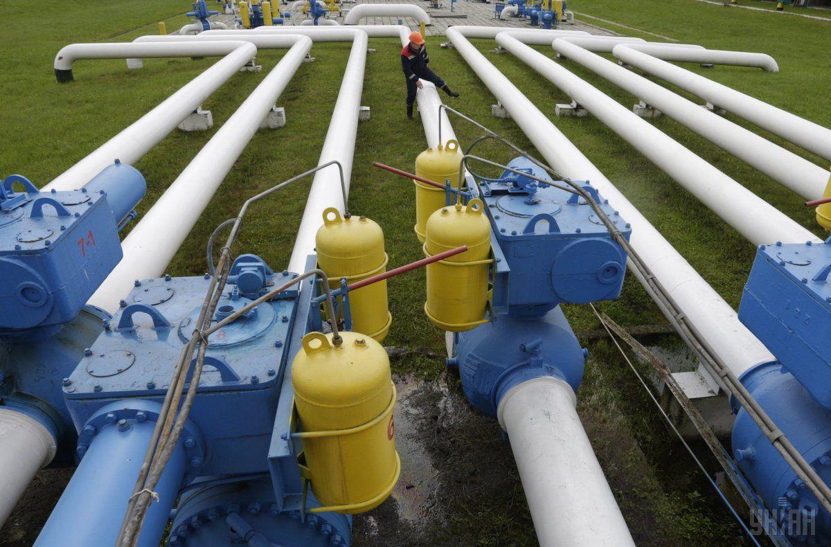 Украинские газовые хранилища заполнены на 42% / фото УНИАН