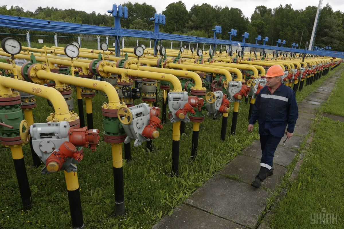 Газовые хранилища Украины заполнены на 55,51% / фото УНИАН