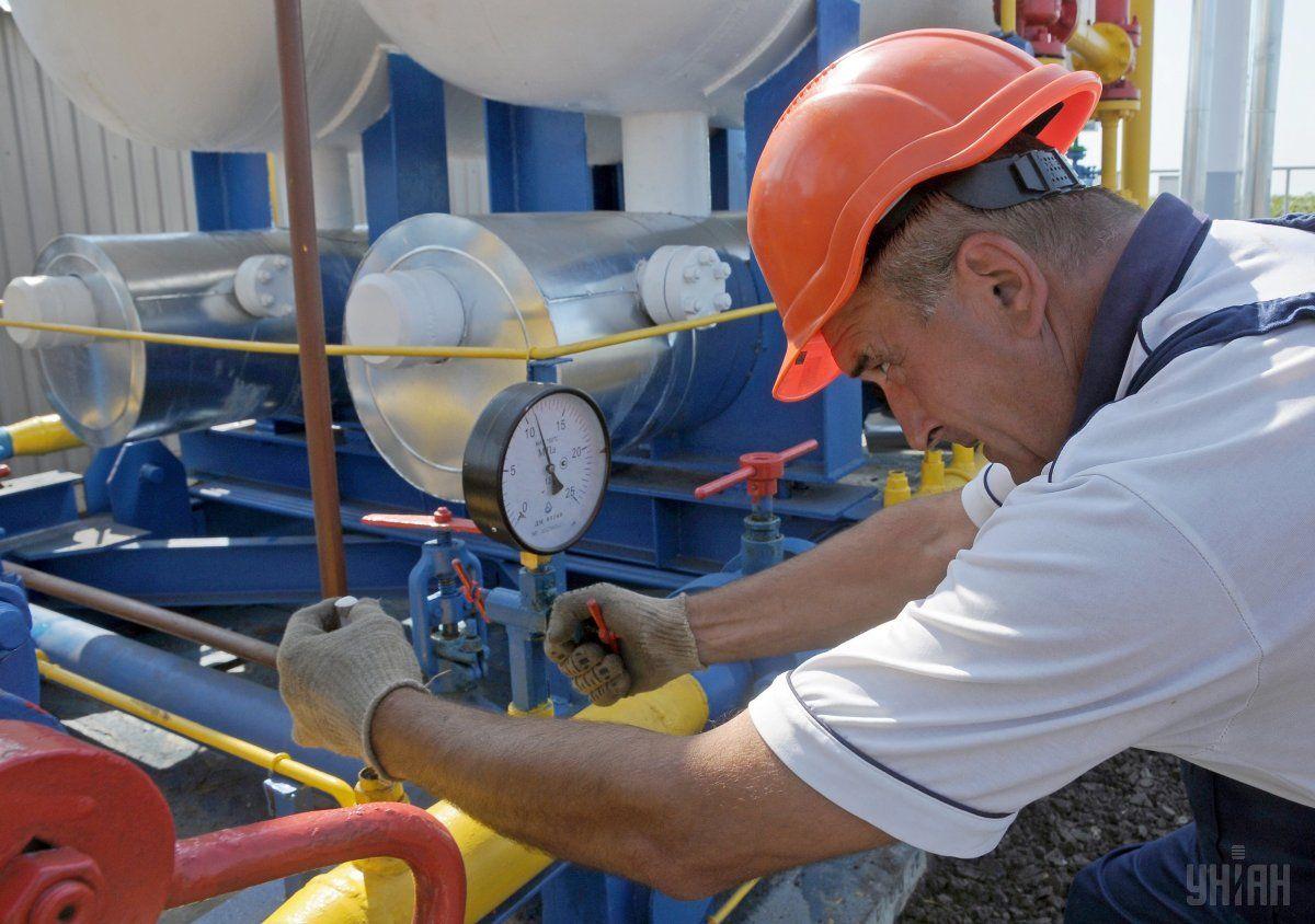 Вукраинских хранилищах возросли запасы газа