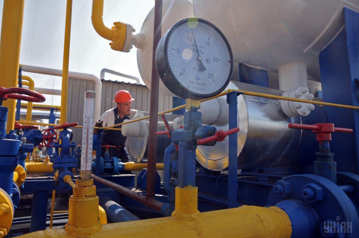 Газовые хранилища Украины заполнены на 54,62% / фото УНИАН