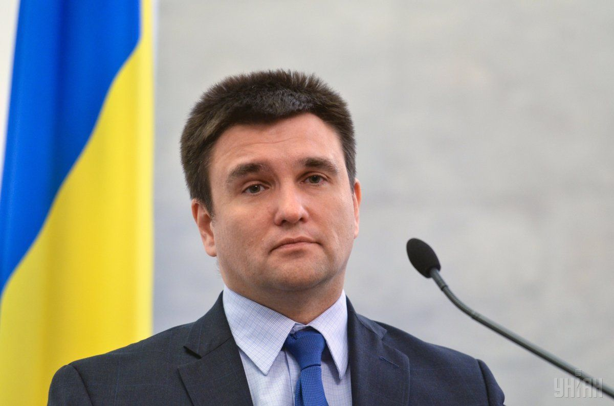 Klimkin has spoken of the Minsk road map logic / Photo from UNIAN
