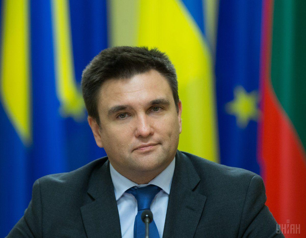 Климкин поблагодарил коллег из МВД, которые работали на сессии в Дубае / фото УНИАН