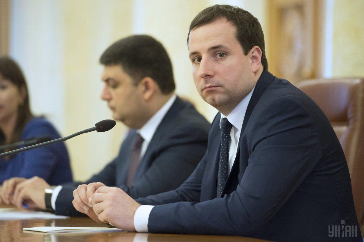 Отвечает за реализацию премьерской мечты министр Кабинета Министров Александр Саенко / фото УНИАН