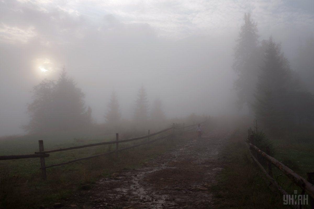 Видимість очікується 200-500 метрів / фото УНІАН