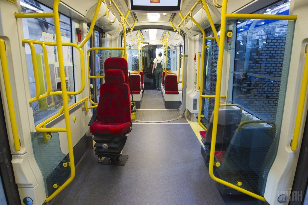 The Polish trams have low decks / Photo from UNIAN
