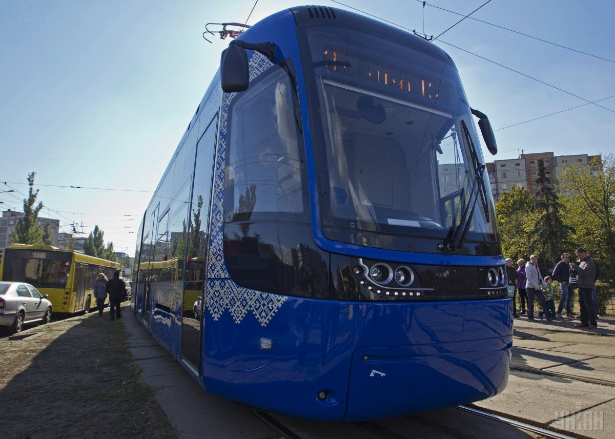 The city of Kyiv will buy 10 trams from Poland / Photo from UNIAN