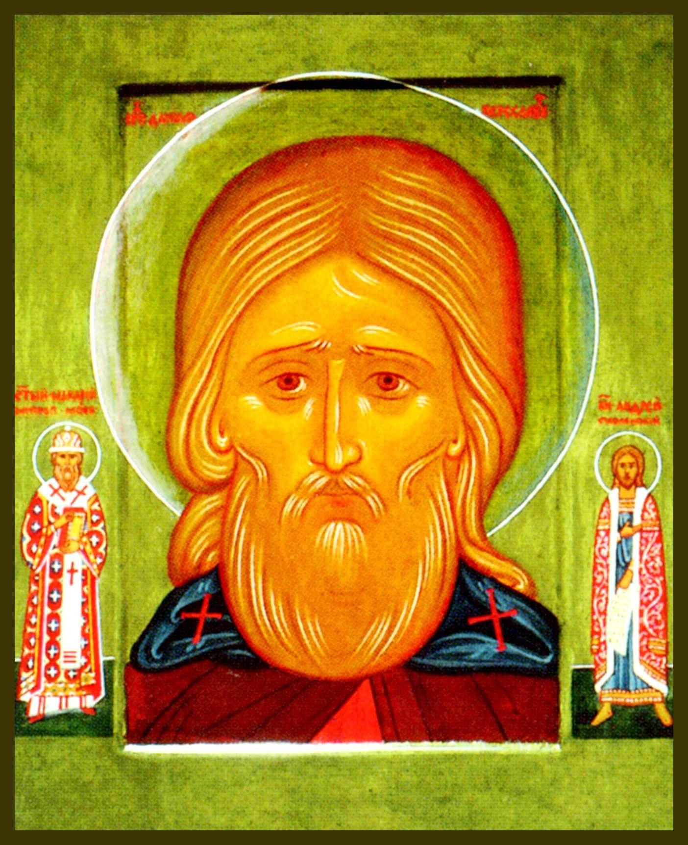 Преподобный Даниил почитается церковью как святой