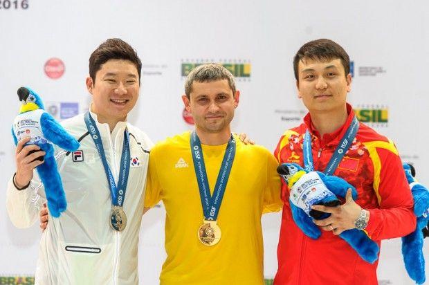 Омельчук завоевал для Украины вторую золотую награду этапа КМ в Рио / issf-sports.org