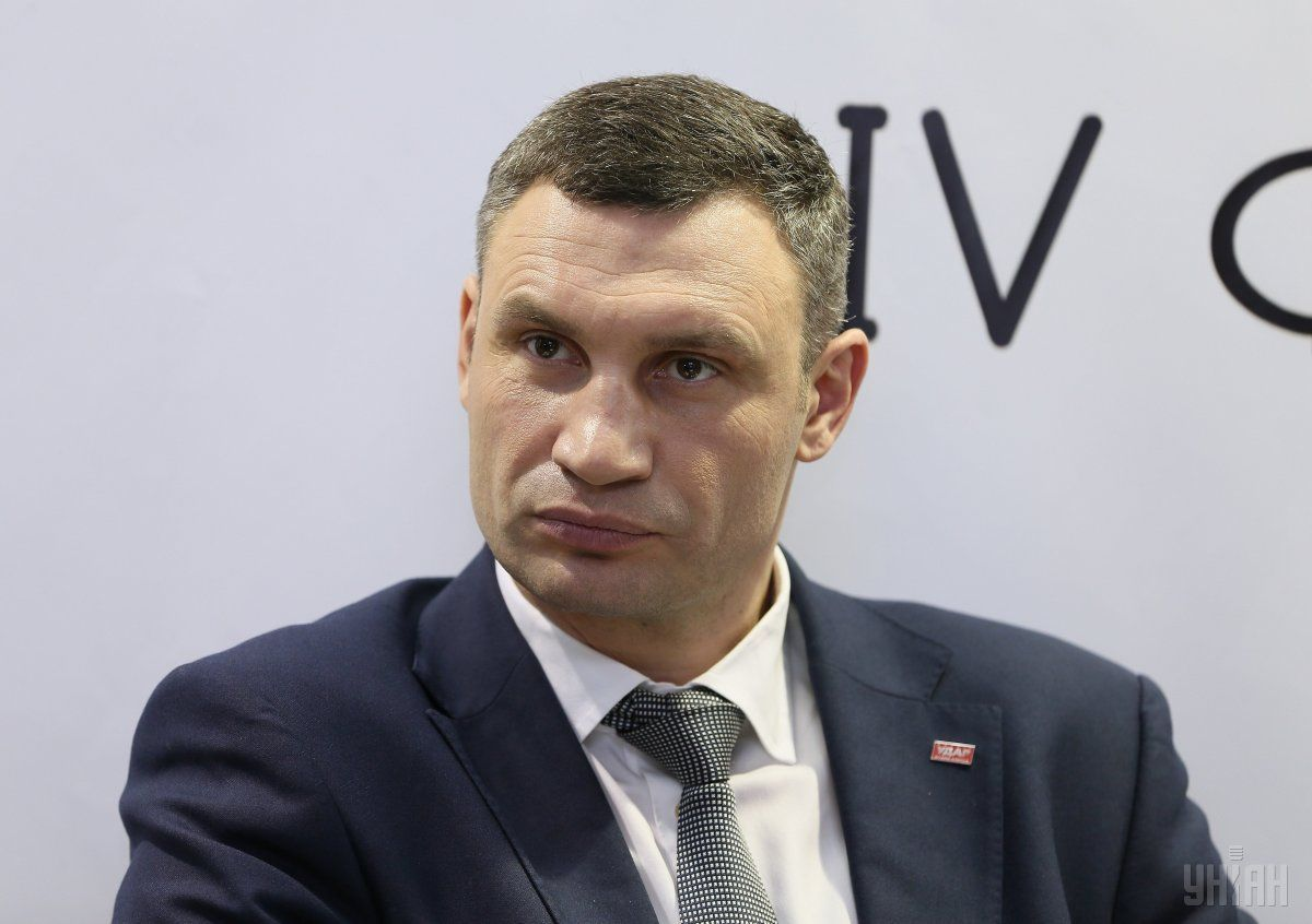 Klitschko says that Kyiv is in