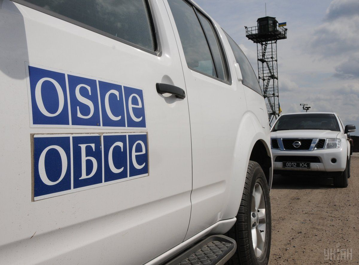 Poroshenko speaks of objectives of the armed OSCE police mission in Donbas / Photo from UNIAN