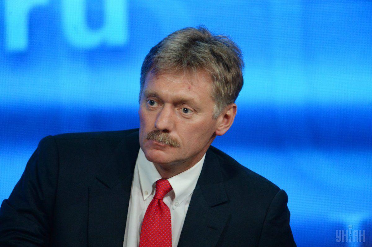 Готовность об обмене послами декларируется министром иностранных дел, заявил Песков / Фото УНИАН