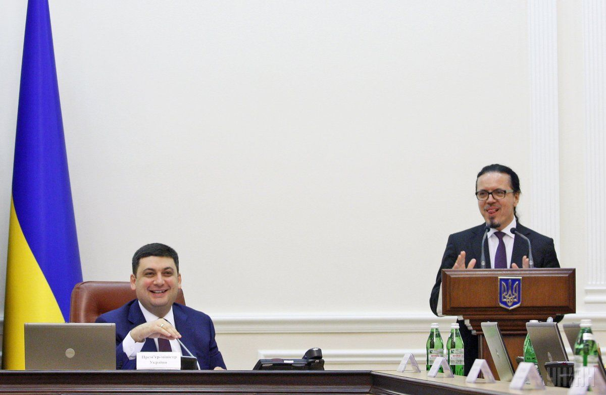Volodymyr Groysman and Wojciech Balczun / Photo from UNIAN