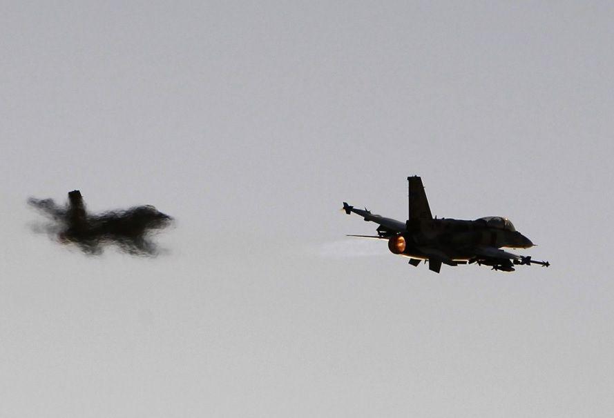 Израильская авиация/ REUTERS
