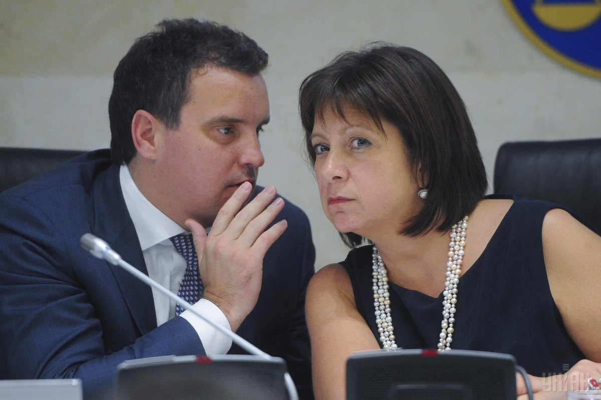 Aivaras Abromavicius and Natalie Jaresko / Photo from UNIAN