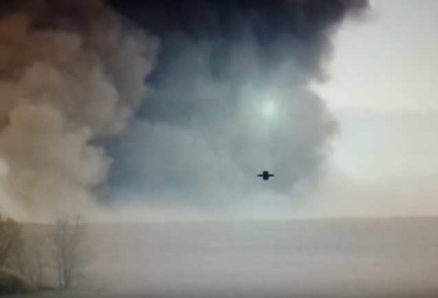 A militant vehicle full of missiles was also destroyed / Screenshot