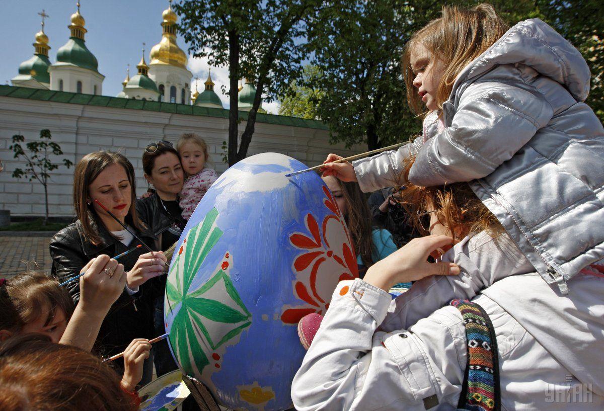 На Великдень в Україні буде тепло / Фото УНИАН